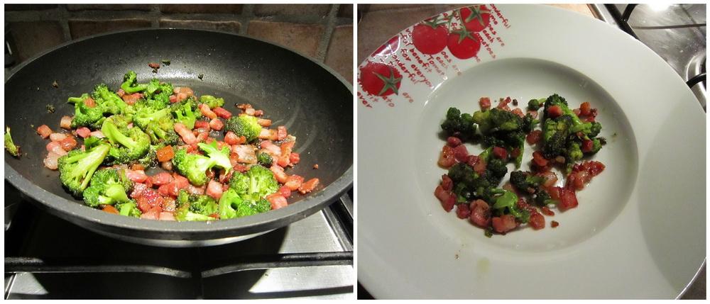 Brokkoli og bacon